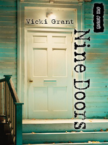 Nine Doors a novel by Vicki Grant