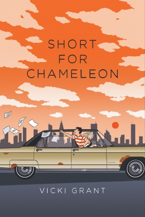 Short For Chameleon funny YA novel by Vicki Grant